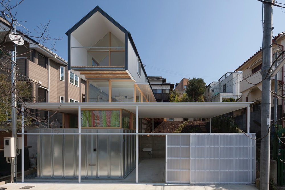 House in Ishikiri by Tato Architects / You Shimada, Amagasaki, Japan