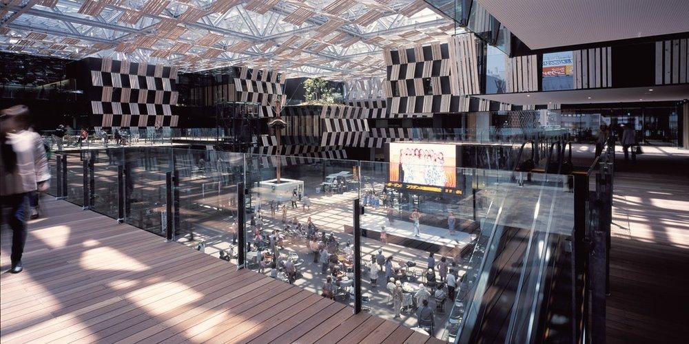 Nagaoka by Kengo Kuma and Associates, Nagaoka, Japan