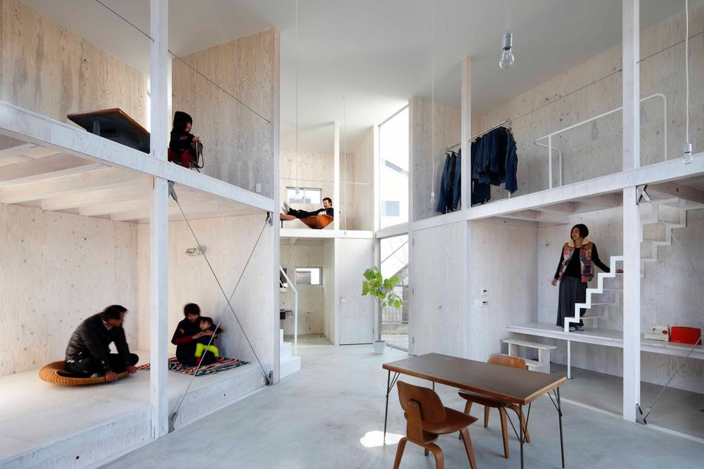 Unfinished House by YAMAZAKI KENTARO DESIGN WORKSHOP, Chiba Prefecture, Japan
