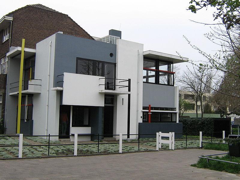Rietveld-Schroder House - Thiết kế: KTS Gerrit Thomas Rietveld