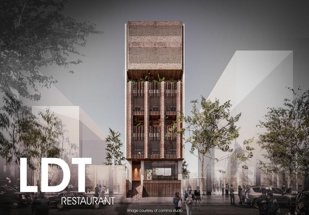 LDT - Restaurant  Design & Construction Date: 8/2018  Address: 12A1 Le Duc Tho, My Dinh, Ha Noi
