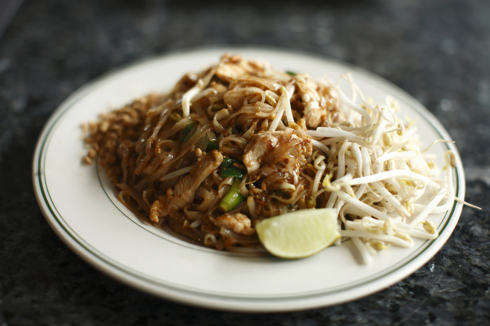 An extensive menu of pad Thai, curry & other Thai staples are on offer in cozy, modest quarters.