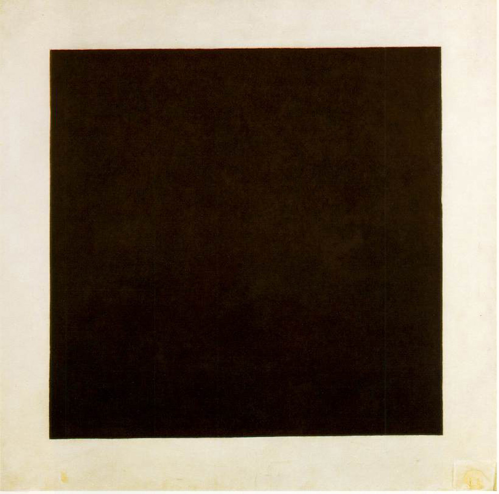 "Kasimir Malevich, Black Square, 1929. Oil on canvas, 42"" x 42..jpg"