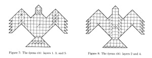 Syena Chiti, Garuda shaped Chiti Schematic as described by John F Pric-VedicAltar.jpg