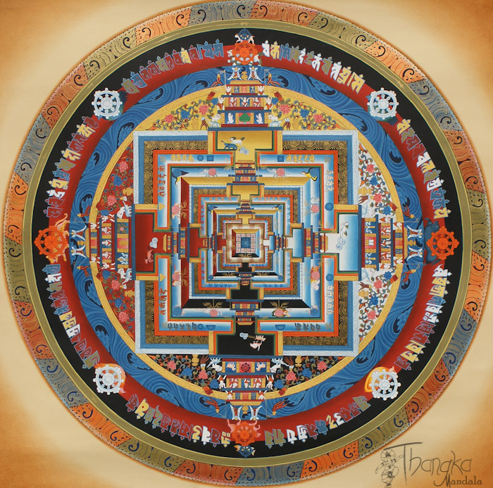 Kalachakra Mandala – Thangka.jpg