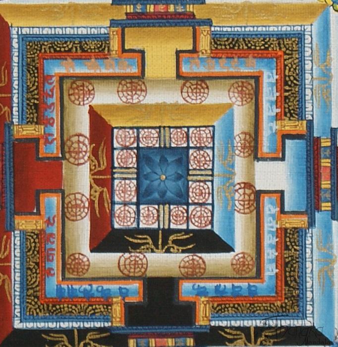 Lotus Flower Center of the Kalachakra Mandala.jpg