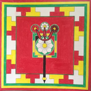 Trisulabija Mandalam-Mandala of the Trident and Lotuses2.jpg