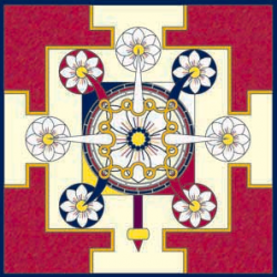 Tritrisulabija Mandalam-The Trika's Mandala of the Three Tridents and (Seven) Lotuses-by Keith Jefferds3.png
