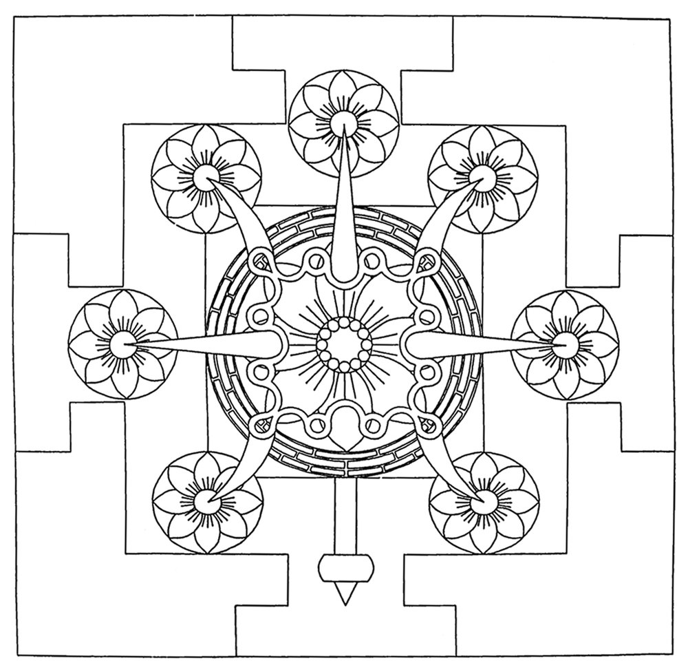 Tritrisulabija Mandalam-outline.jpg