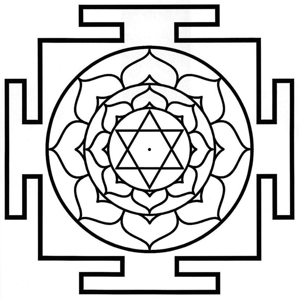 Bhuvaneswari Yantra-bw.jpg