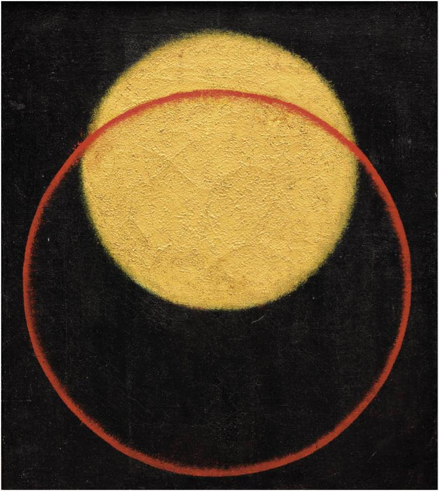 Alexander Rodchenko - Composition # 61 (Color Sphere of a Circle), 1918.jpg