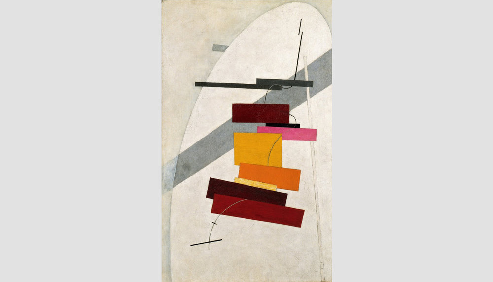 El Lissitzky_1920c Untitled oil on canvas 80x50cm_slide.jpg