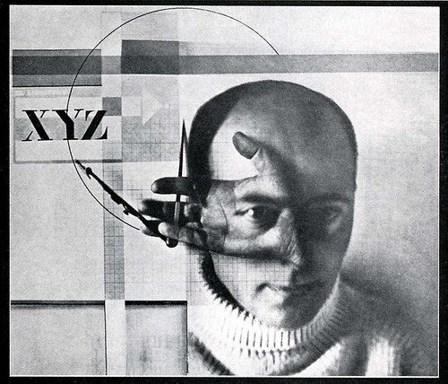 Self portrait, El Lissitzky, 1923. Double exposure combined with photogram.jpg