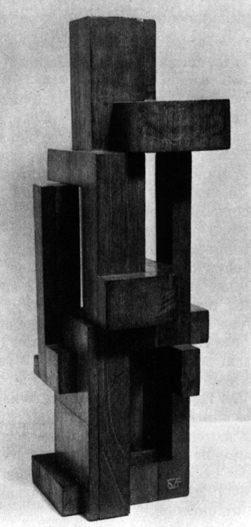 Georges Vantongerloo, Construction of Volume Relations, 1921.jpg