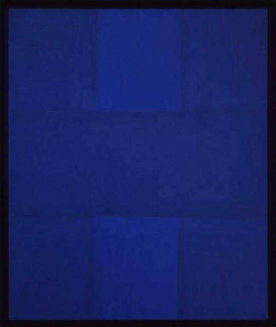 Ad Reinhardt, Abstract Painting, Blue, 1952.jpg