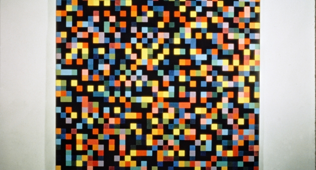 Ellsworth Kelly, Spectrum Colors, arranged by chance, 1952-53, private collection.jpg