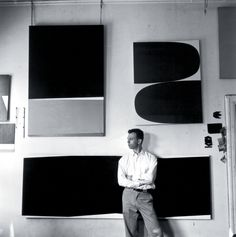 Ellsworth Kelly in his Broad Street studio, New York, 1956. Photograph- Onni.jpg