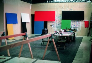 Ellsworth Kelly's studio, Chatham, New York, 1972.jpg