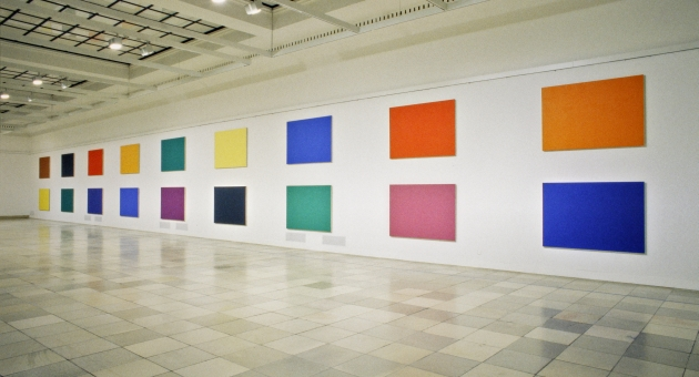 Ellsworth Kelly. Retrospective, installation view, Haus der Kunst, 1997, photo Wilfried.jpg