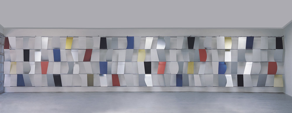 Ellsworth Kelly. Sculpture for a Large Wall (detail). 1957. Anodized aluminum.jpg
