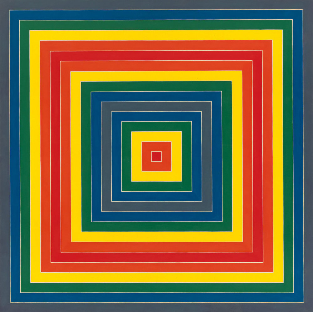 Frank Stella (b. 1936), Gran Cairo, 1962. Alkyd on canvas.jpg