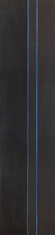 Barnett Newman By Twos, 1949 Oil on canvas, 66 x 16 inches.jpg