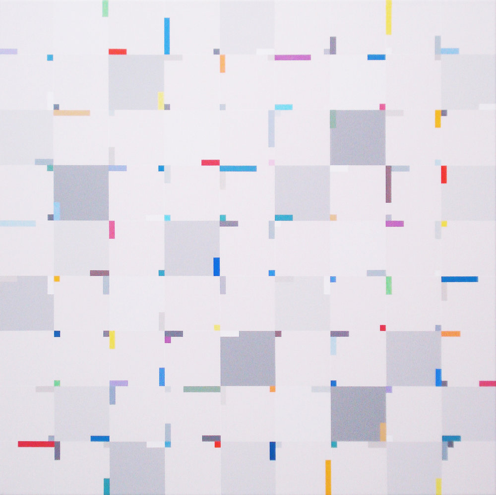 Elements in centres [20161007], 2016, acrylic on canvas, 31 1:2 x 31 1:2 in. [80x80cm].jpg