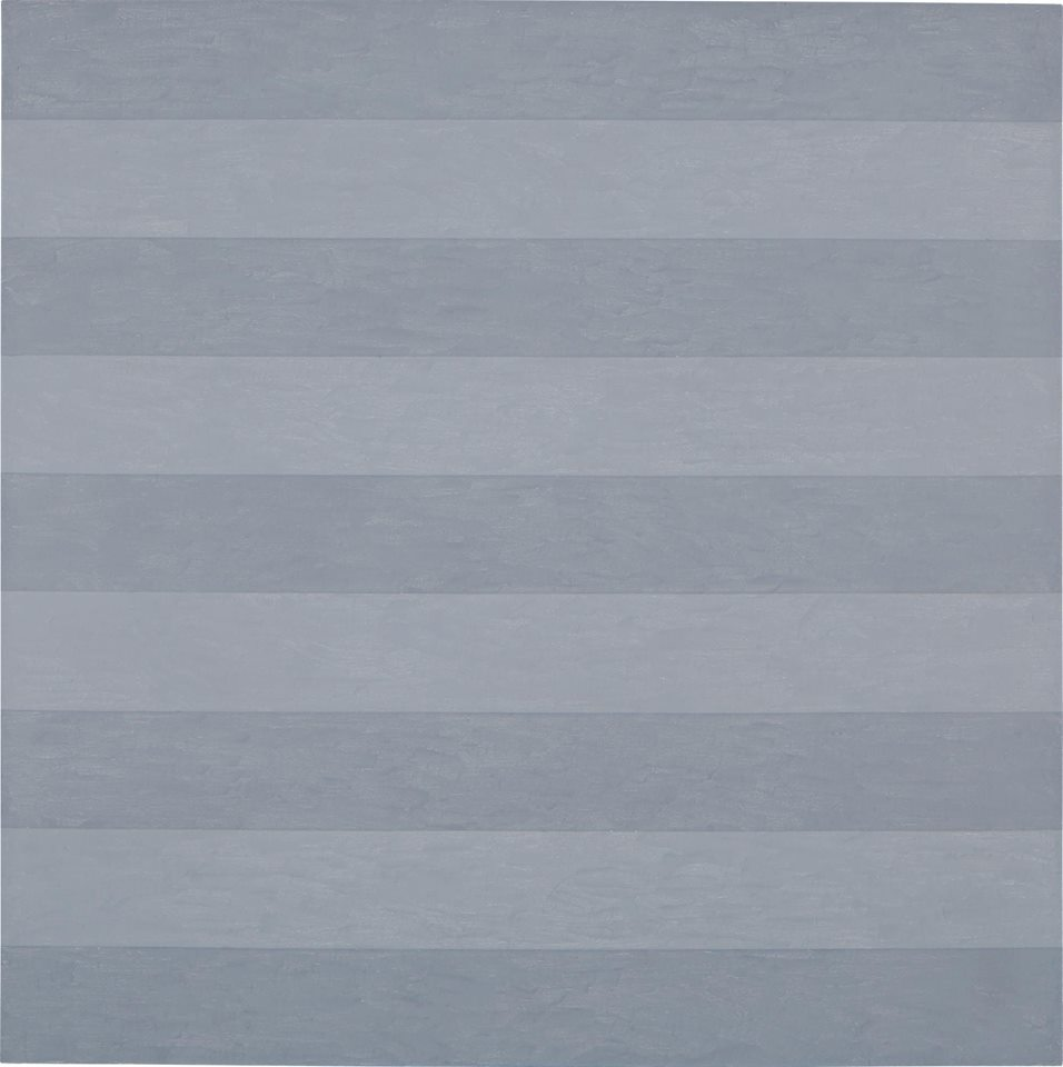 AGNES MARTIN Untitled #1, 1985 gesso, acrylic and graphite on canvas 72 x 72 in. (182.9 x 182.9 cm.).jpg
