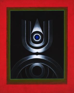 Gulam Rasool Santosh_Untitled_1975_Oil on canvas_49.75 x 39.75 in (126 x 100.6 cm.jpg