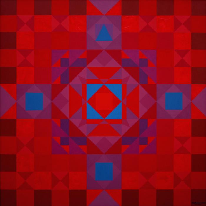 16 Mandala of Tuning the Squares  60X60'' 2015, big.jpg