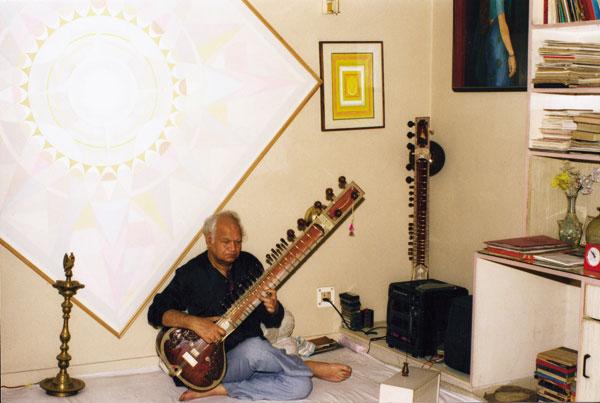 Om Prakash Sharma_Music Room 1999.jpg