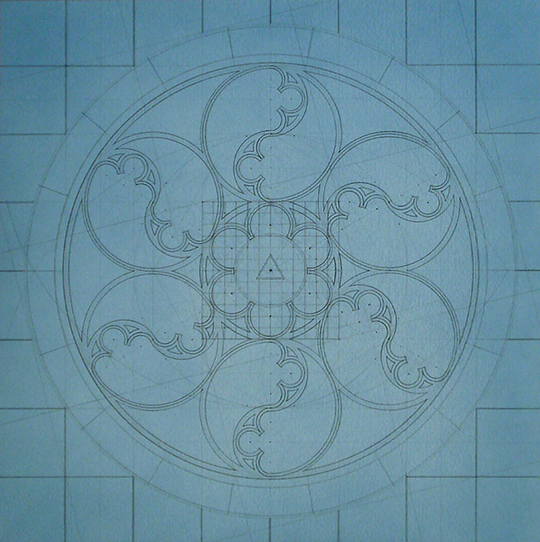 Origo-Jesu [20190212], mixed technique drawing on paper, 19 11-16 x 19 11-16 in. [50x50cm]-[framed_57x57cm]_1-1000-cr-540.jpg