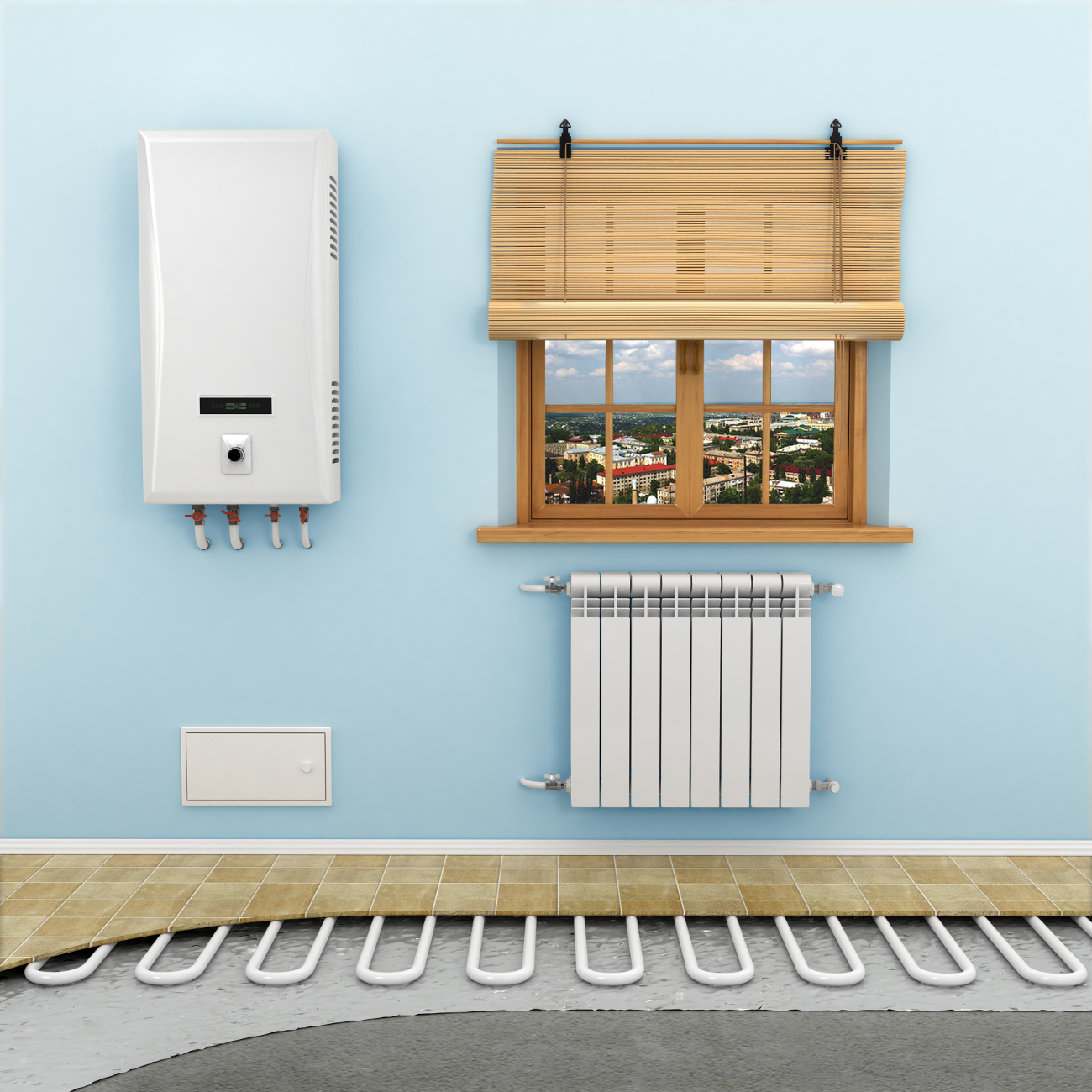 Full Heating Installation — Thanet Heating Co Ltd