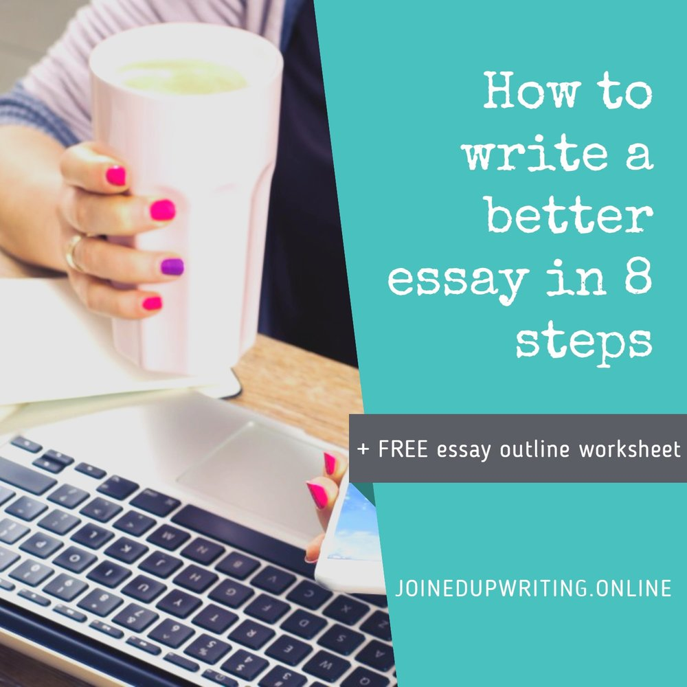 8 simple steps_joinedupwriting.online