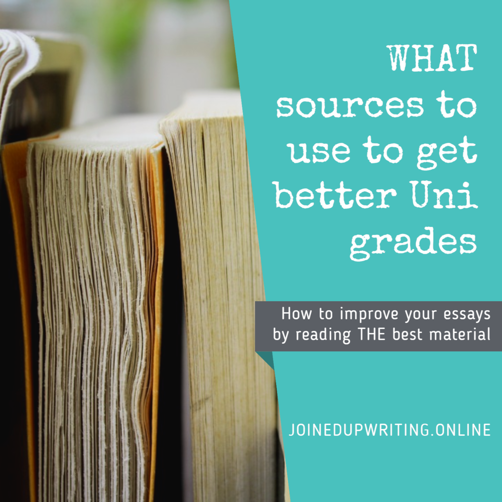 how to purpose what sources to use to get better grades what sources to to get better grades