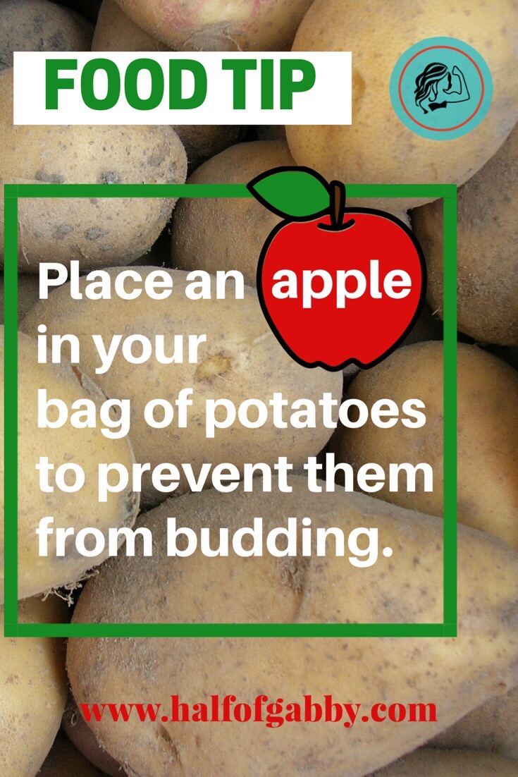Potato saver tip.
