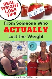 REAL Weight Loss Tips