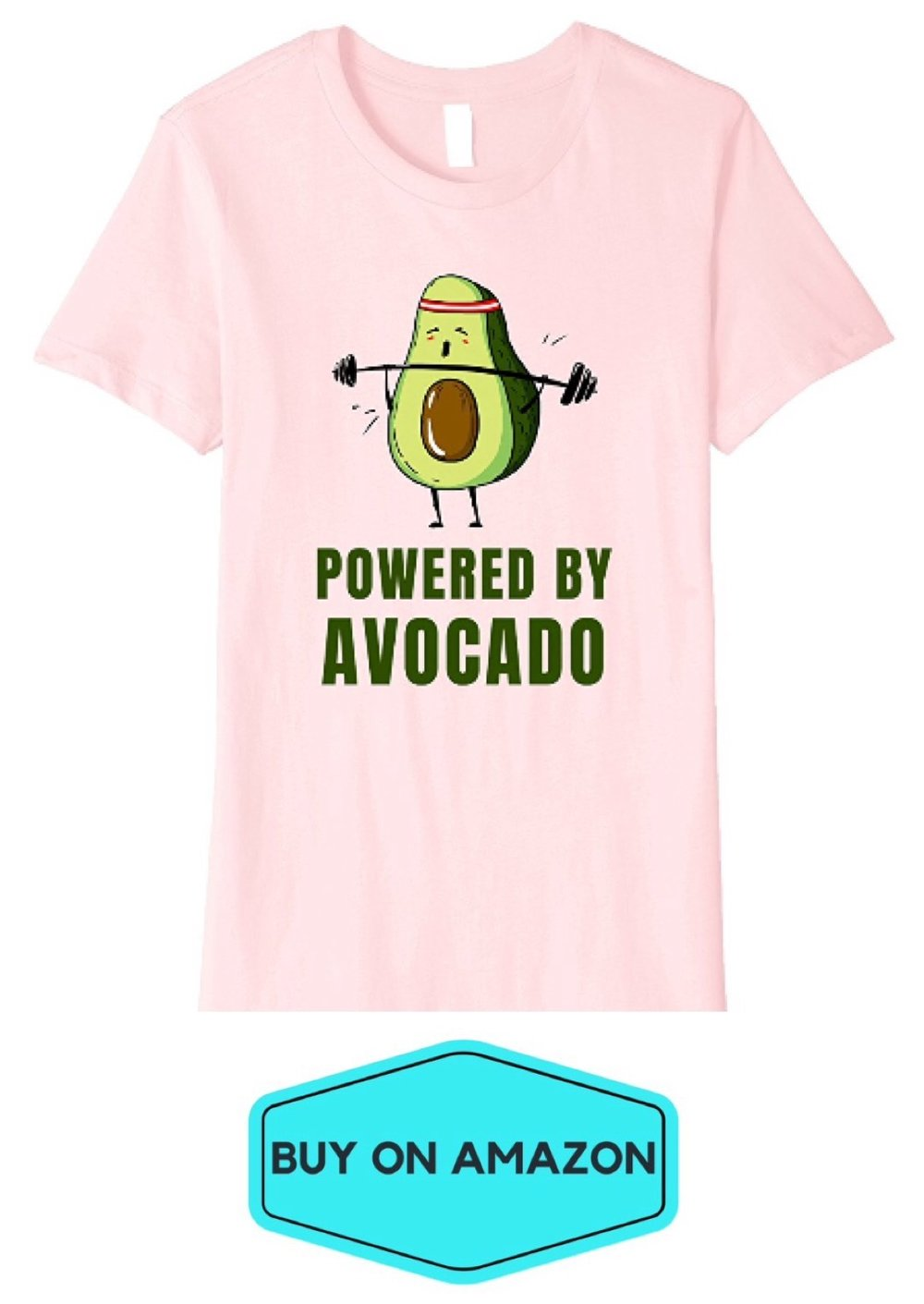 Powered By Avocado Tee