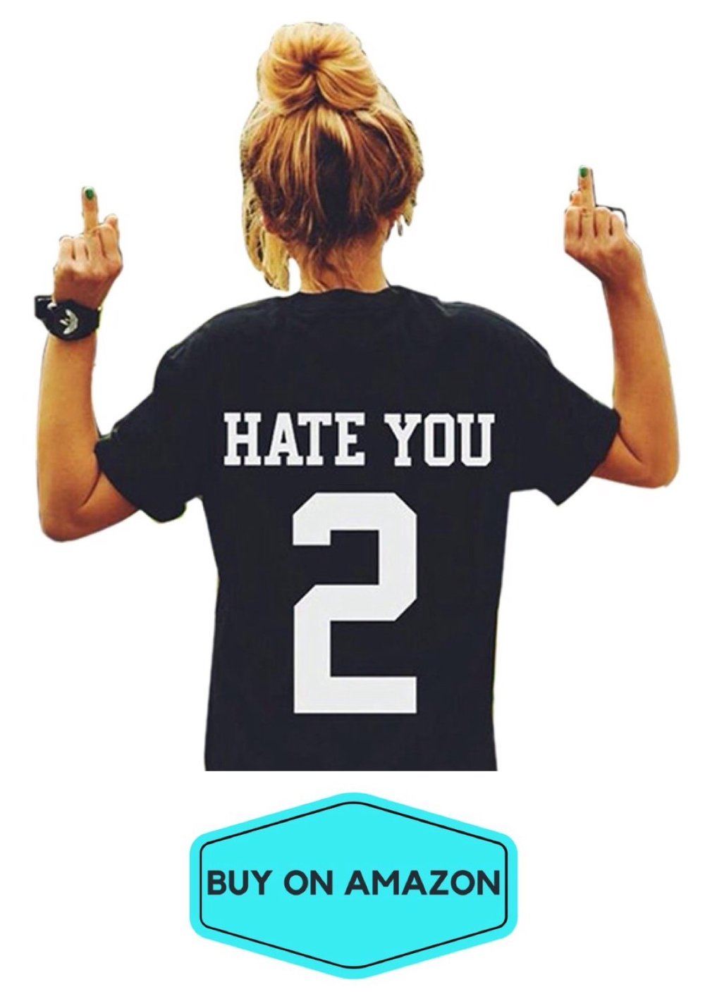 I Hate You 2 Tee