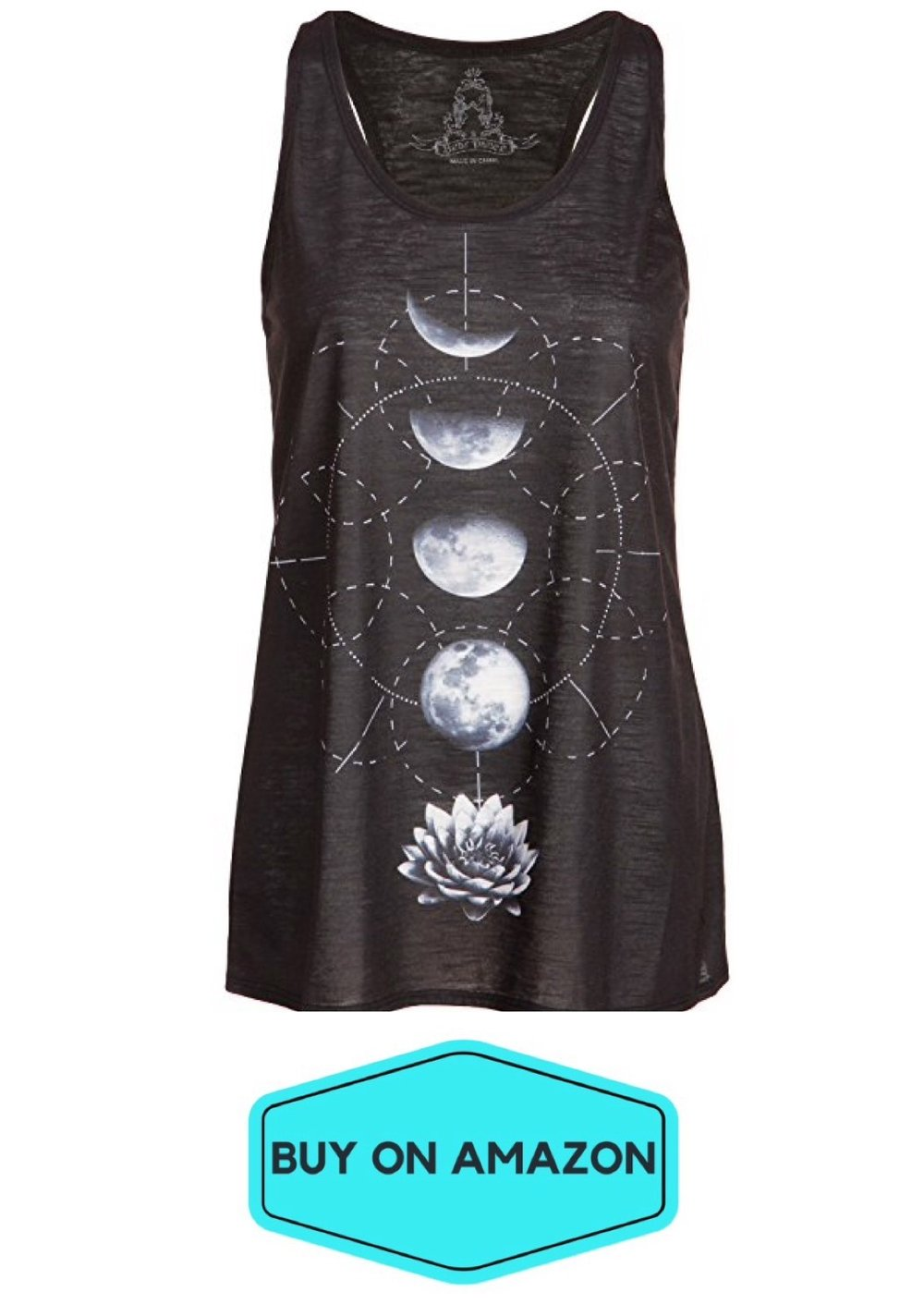 Black Lotus Moon Stage Tank
