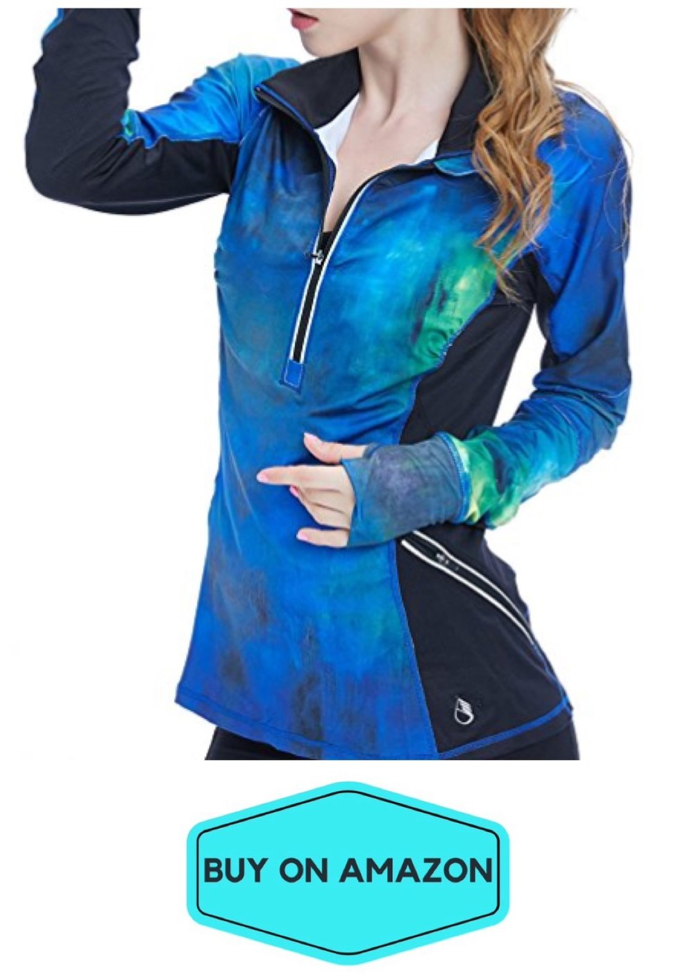 Galaxy Yoga Track Jacket