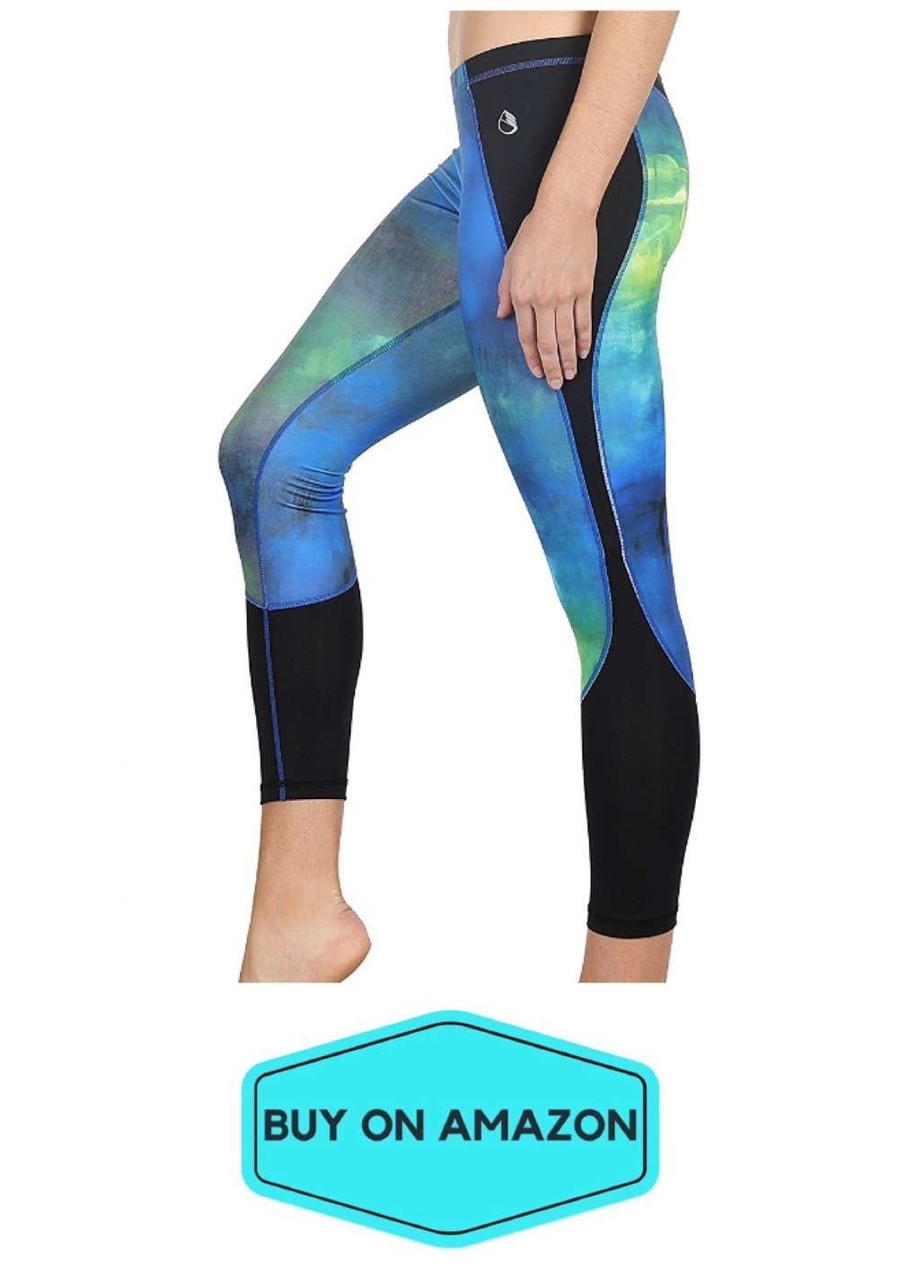 Galaxy Capri Yoga Pants