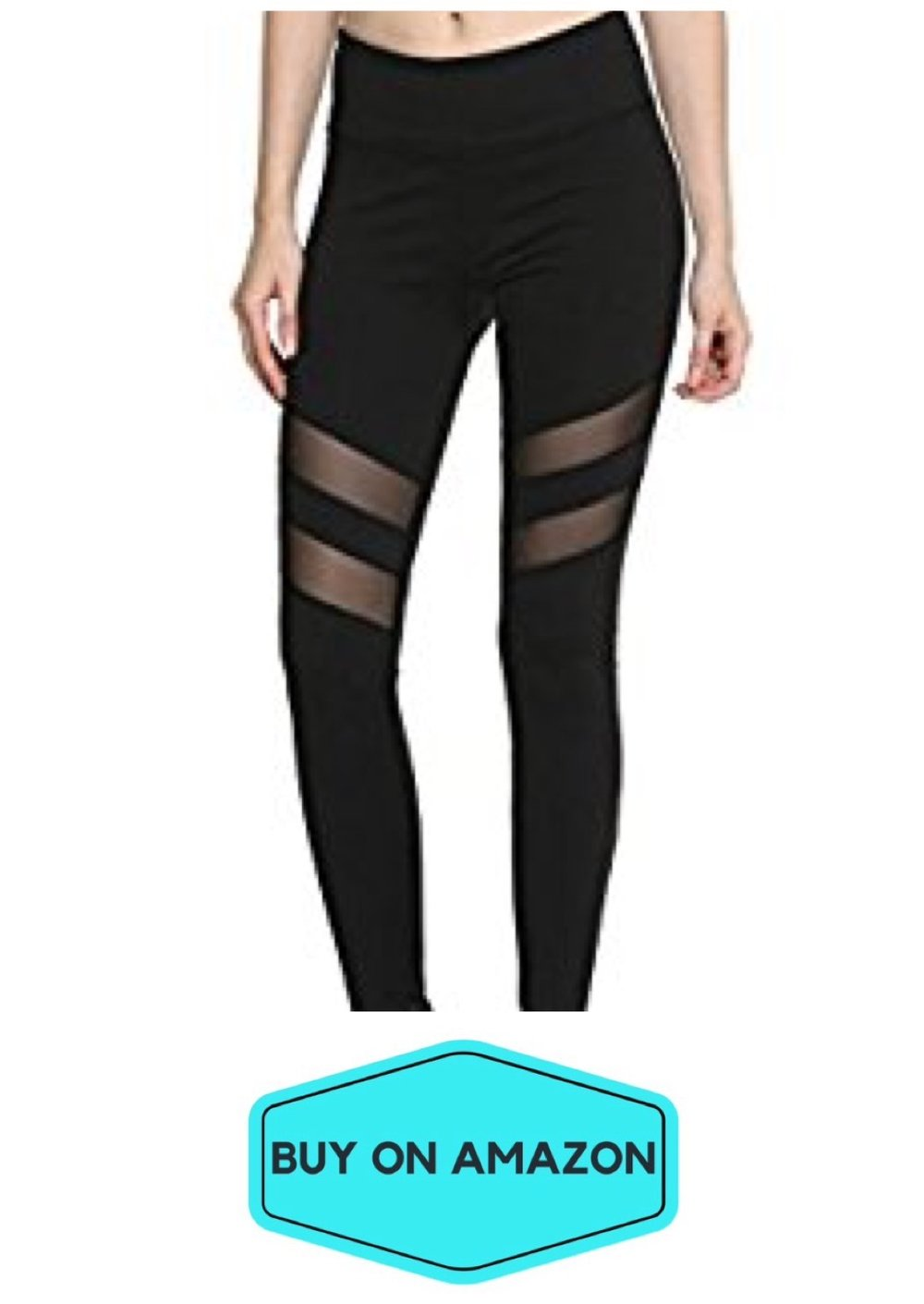 Stretchy Mesh Leggings