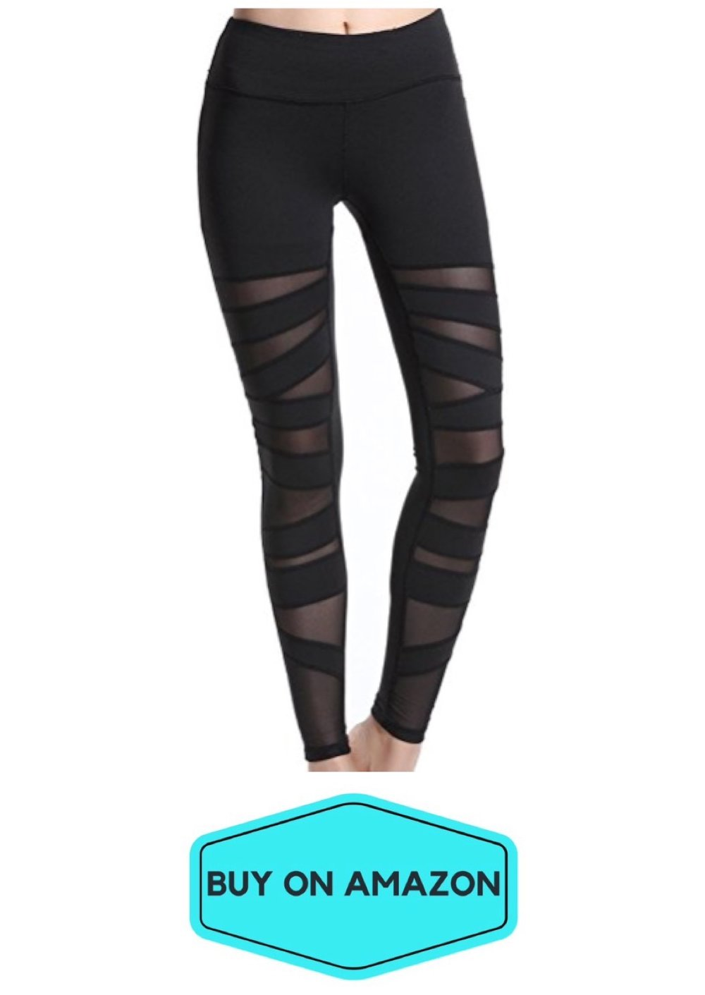 Mummy Mesh Leggings