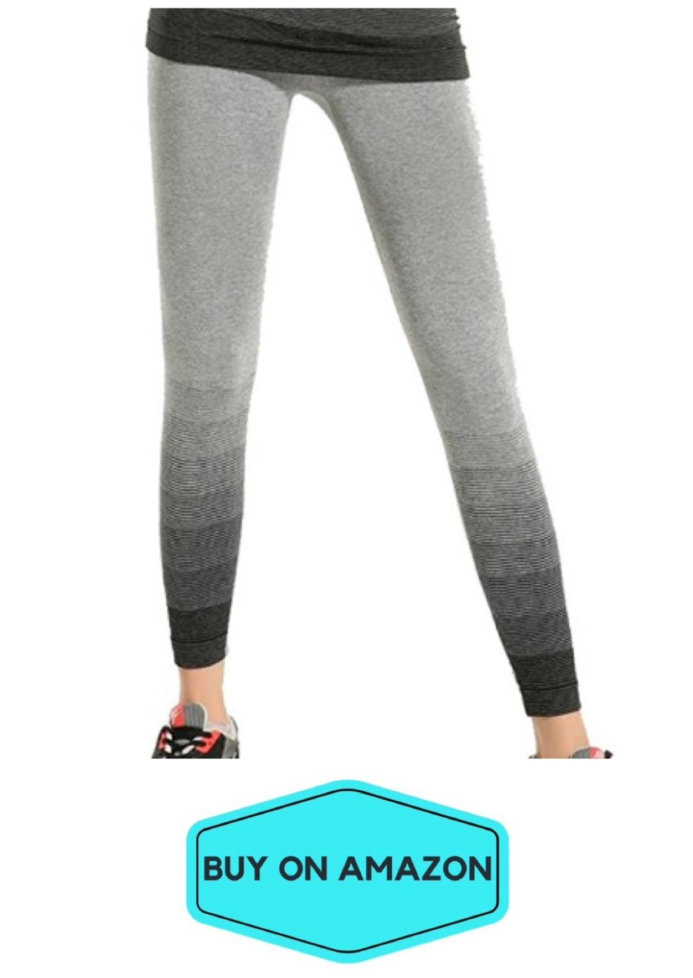 Gray Gradient Leggings