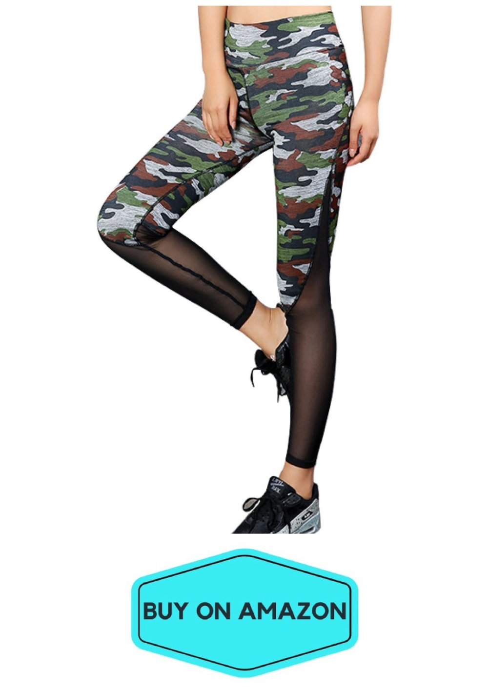 Camo/Mesh Leggings