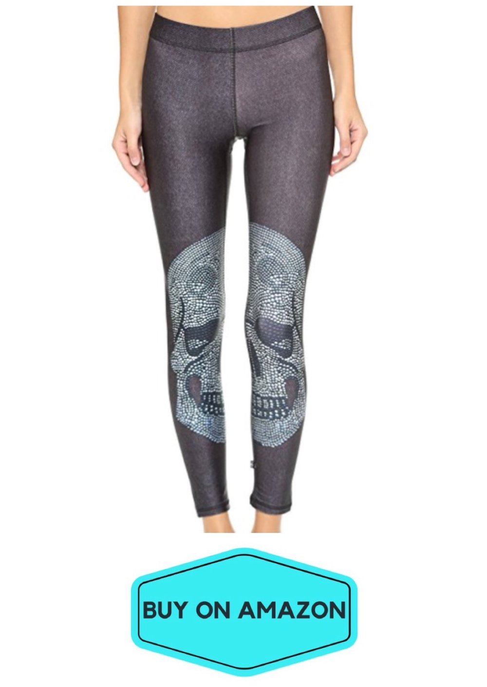Skull Gym Leggings