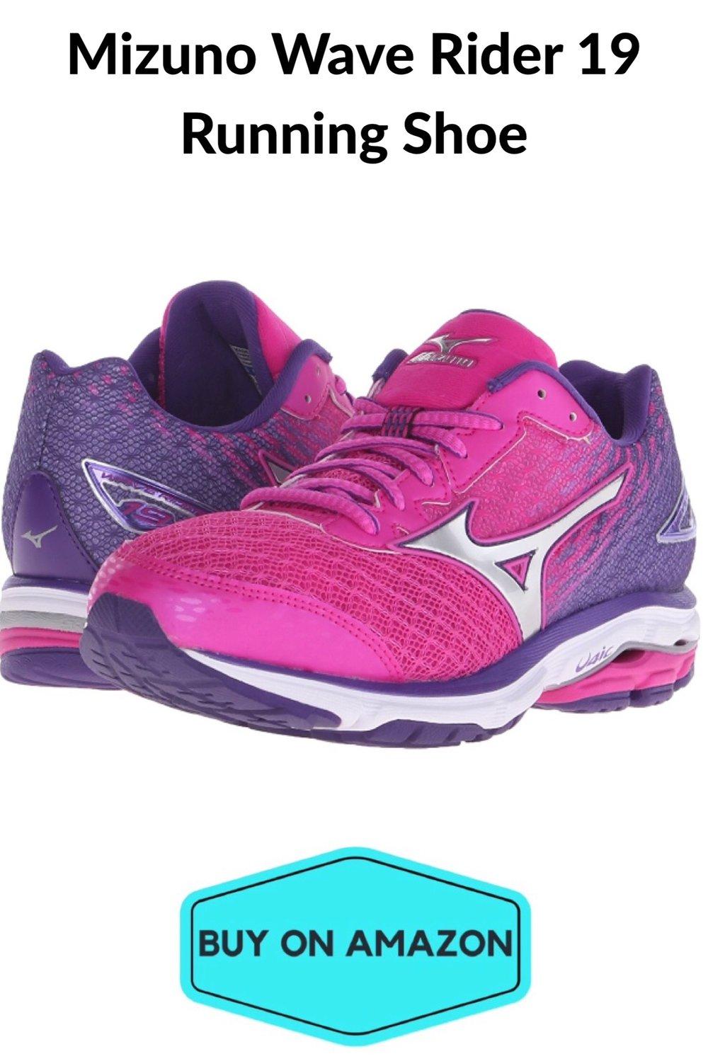 Minuzo Wave Rider 19 Women's Running Shoe