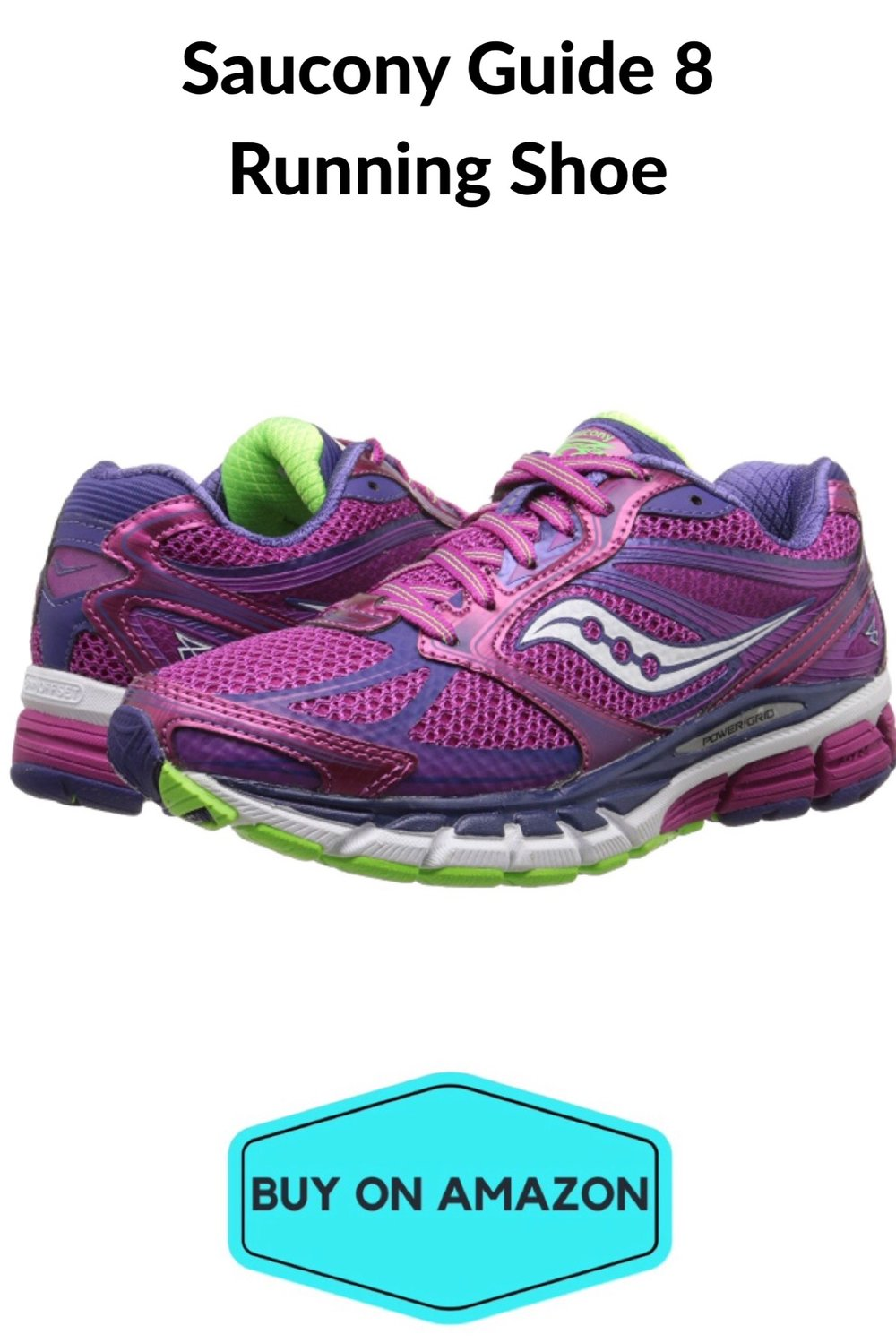 Saucony Guide 8 Women's Running Shoe