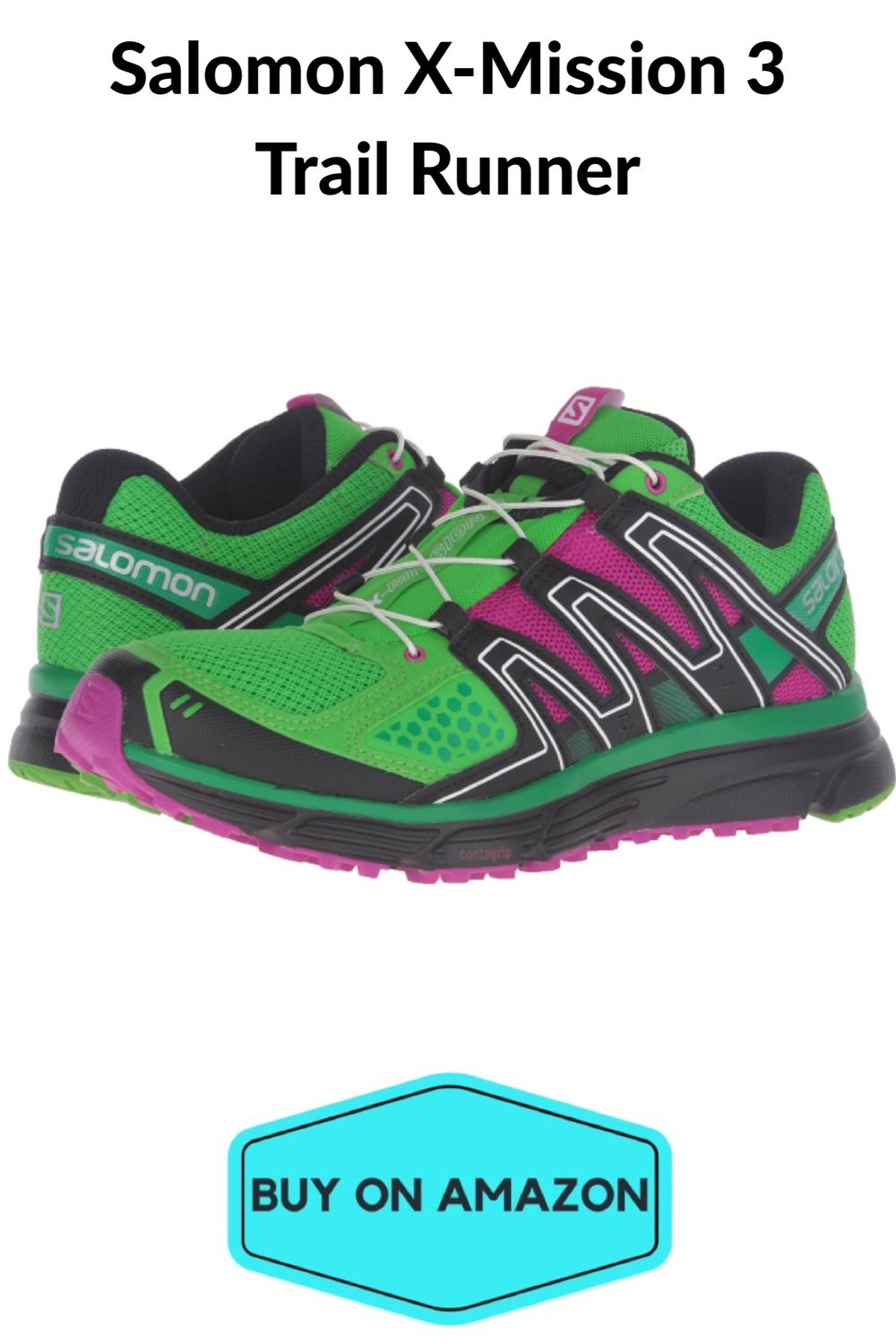 Salomen X-Mission 3 Women's Trail Runner